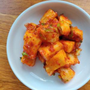 Pumpkin Kimchi